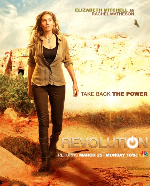 Revolution - Elizabeth Mitchell poster