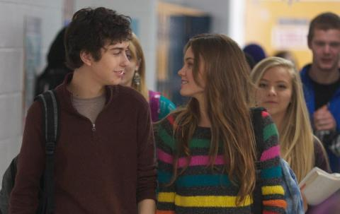 Nat Wolff is Rusty Borgens in 'Stuck in Love'.