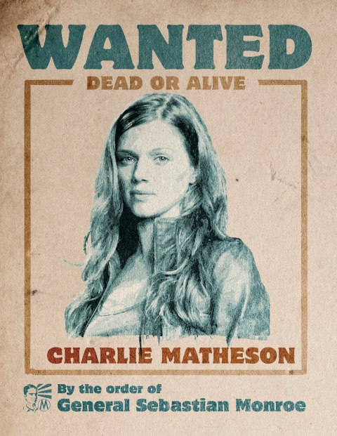 Revolution - Wanted Poster - Charlie Matheson