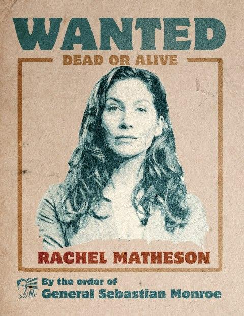 'Revolution' Wanted Poster - Rachel Matheson
