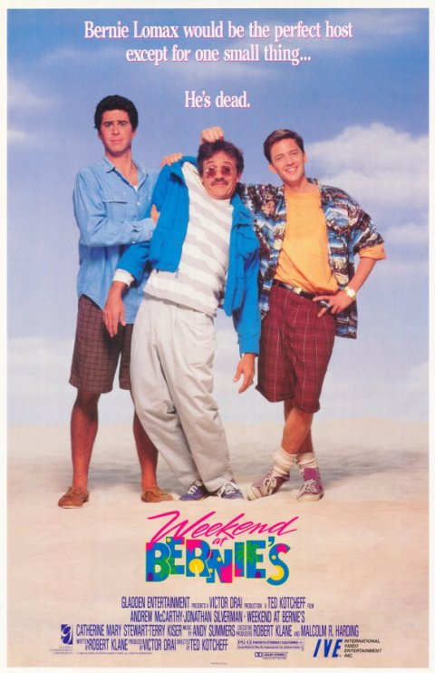 Weekend at Bernie's (1989), filmed in Wilmington, North Carolina