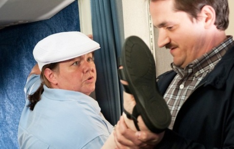 'Bridesmaids' star Melissa McCarthy will reunite with her real life husband Ben Falcone in their new comedy 'Tammy', which they wrote and will direct in Wilmington, NC.