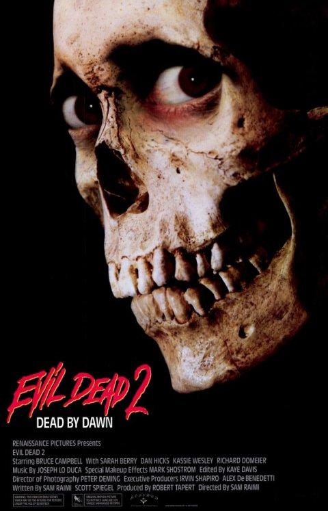 Evil Dead II: Dead by Dawn - poster