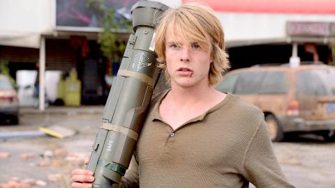 Graham Rogers of 'Revolution', filmed in Wilmington, returns to North Carolina in 'Red Zone'.