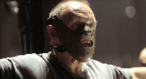 Anthony Hopkins stars in 'Hannibal', filmed partly in Asheville, North Carolina.