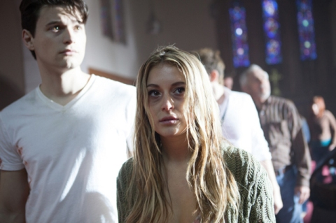 Alexa Vega is among 'The Remaining', filmed in Wilmington, North Carolina.