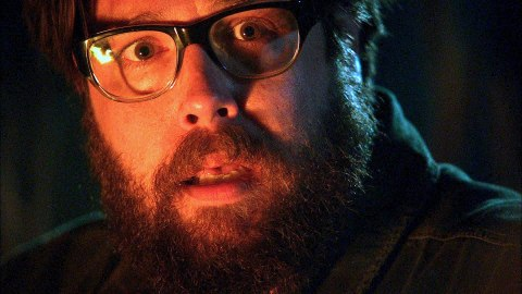 Zak Orth is Aaron in 'Revolution', fimed in Wilmington, North Carolina.