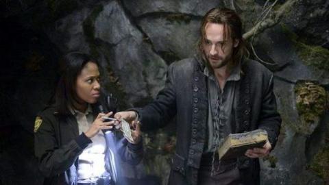 'Sleepy Hollow' stars Nicole Beharie and Tom Mison as Ichabod Crane. (photo: Brownie Harris/FOX)