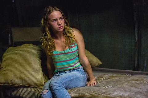 NC actress Britt Robertson is Angie in 'Under the Dome'.