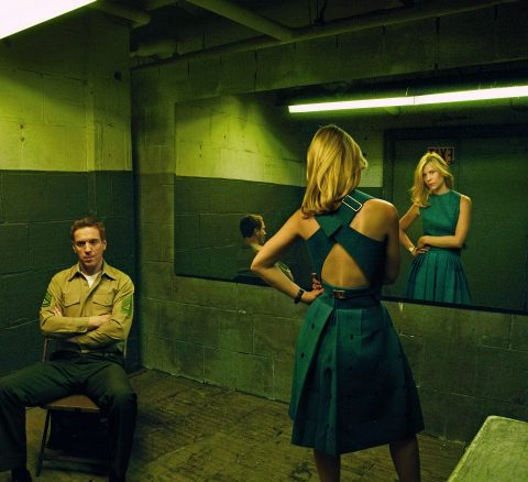 'Homeland' stars Claire Danes and Damian Lewis photographed by Annie Leibovitz for Vogue, August 2013.