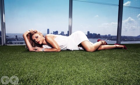 'Homeland' star Claire Danes, photographed for GQ Magazine, Sept. 2012.