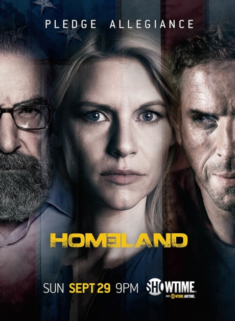 Homeland Season 3 - poster