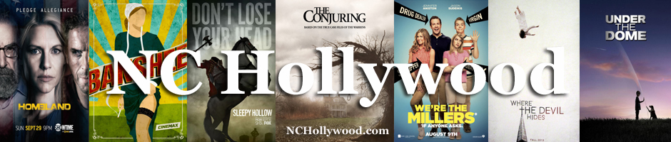 Your #1 Source for news and updates on movie and TV productions filmed in North Carolina!