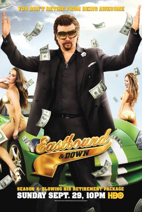 'Eastbound and Down' Season 4 Poster