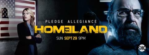 Homeland Season 3 Banner