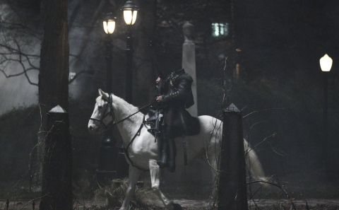 The Headless Horseman rides again in FOX's 'Sleepy Hollow'.