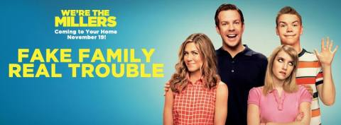 'We're the Millers' DVD Banner