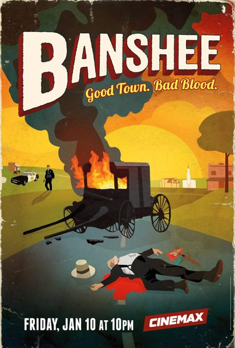 'Banshee' Season 2 Poster