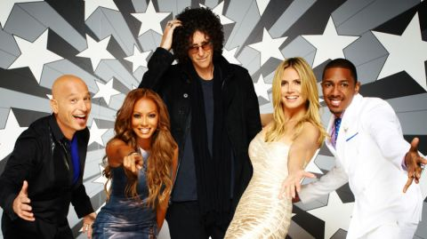 The celebrity judges of 'America's Got Talent'.