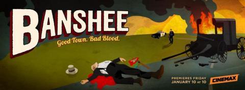 'Banshee' Season 2 Banner