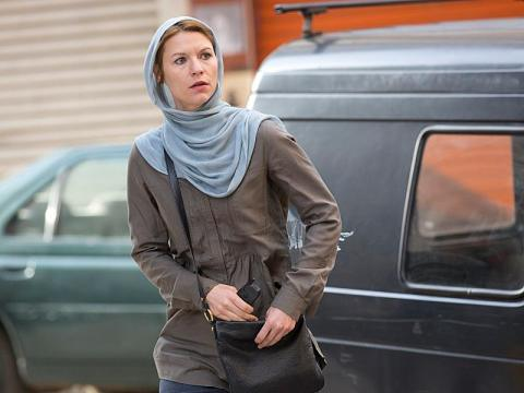Claire Danes stars in 'Homeland', filmed in Charlotte, NC.