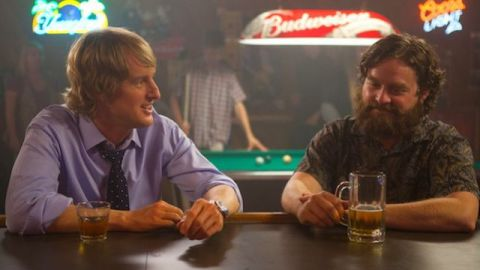 Zach Galifianakis and Owen Wilson star in 'Are You Here', filmed in Winston-Salem, North Carolina.