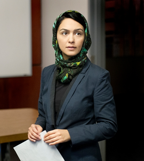 azanin Boniadi as Fara in Homeland (Season 3, Episode 2). - Photo:  Bob Leverone/SHOWTIME
