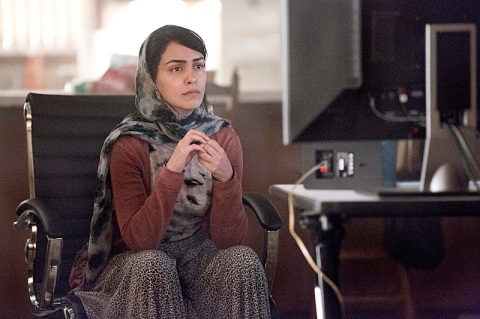 Nazanin Boniadi stars in 'Homeland', filmed in Charlotte, North Carolina.