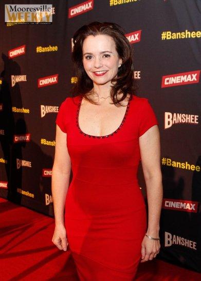 Samantha Worthen at the 'Banshee' premiere.