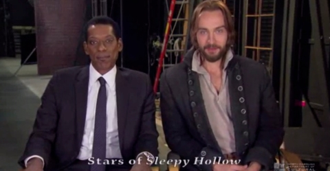 'Sleepy Hollow' stars Orlando Jones and Tom Mison promote North Carolina tourism in a new PSA.