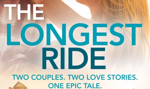 The Longest Ride by Nicholas Sparks - banner