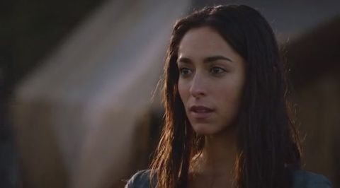 'Game of Thrones' star Oona Chaplin is in Wilmington, North Carolina this summer filming 'The Longest Ride'.