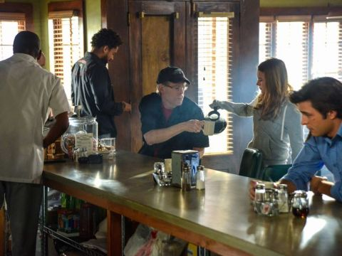 Stephen King guest stars on the Season 2 premiere episode of 'Under the Dome', filmed in Wilmington, North Carolina.