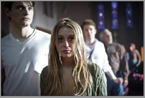 Alexa Vega stars in 'The Remaining', filmed in Wilmington, North Carolina.