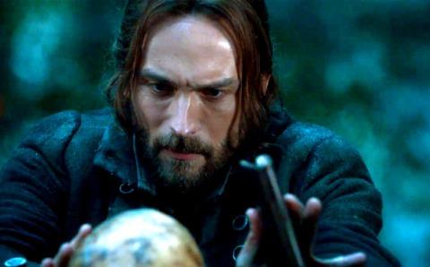 Tom Mison is Ichabod Crane on 'Sleepy Hollow', filmed in Wilmington, North Carolina.