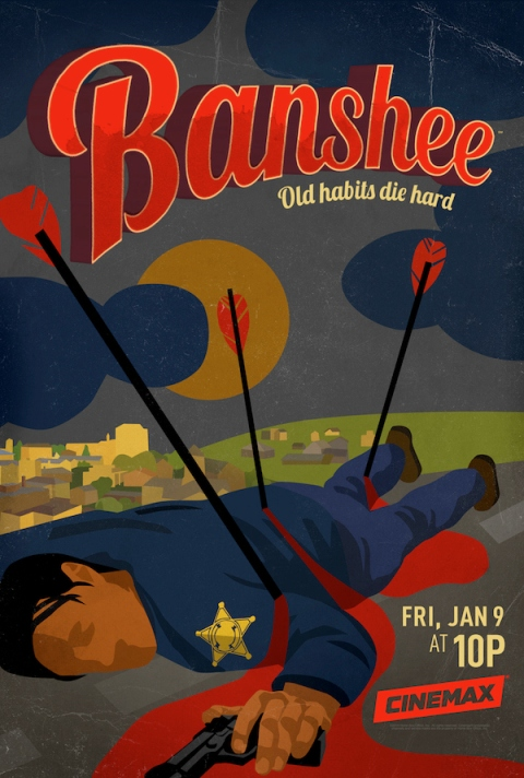 'Banshee' Season 3 premieres on Jan. 9, 2015, filmed in Charlotte, North Carolina.