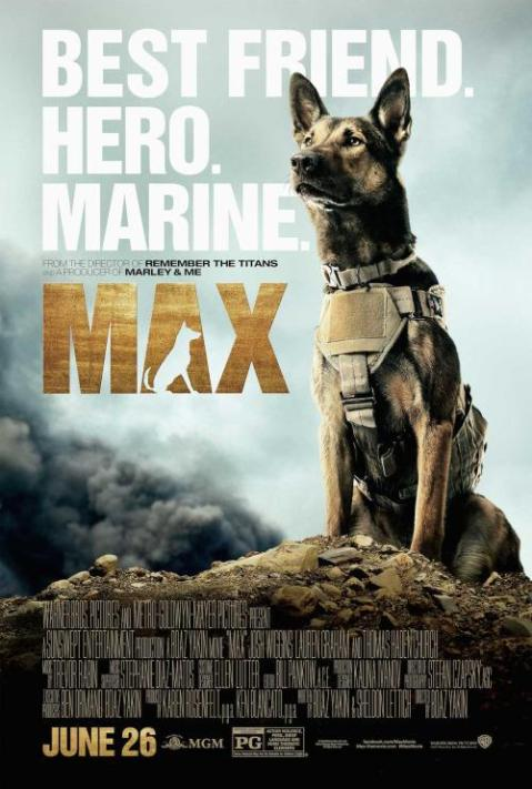 'Max', filmed in Charlotte, North Carolina