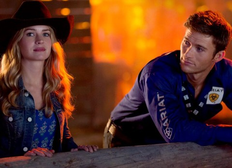 Charlotte, North Carolina native Britt Robertson and Scott Eastwood star in 'The Longest Ride', filmed in Wilmington, North Carolina.