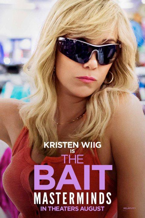 Masterminds Kristen Wiig poster