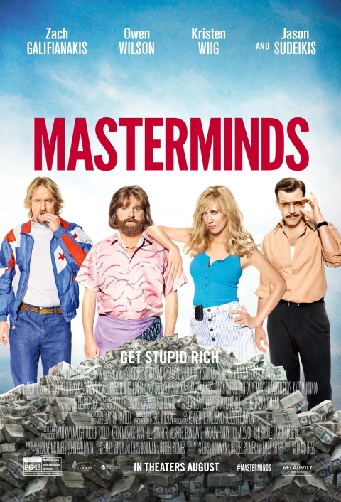 Masterminds official poster