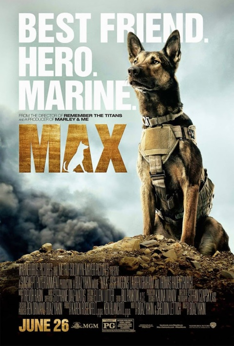 'Max', filmed in North Carolina