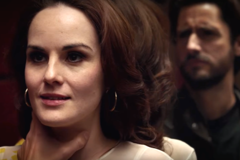 Michelle Dockery stars in 'Good Behavior', filmed in Wilmington, North Carolina.